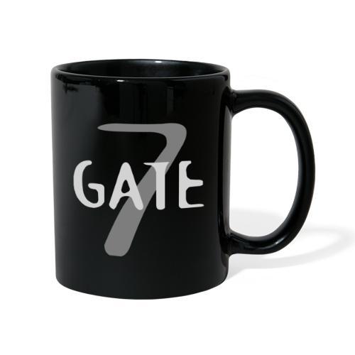 Gate-7 Logo hell - Tasse einfarbig