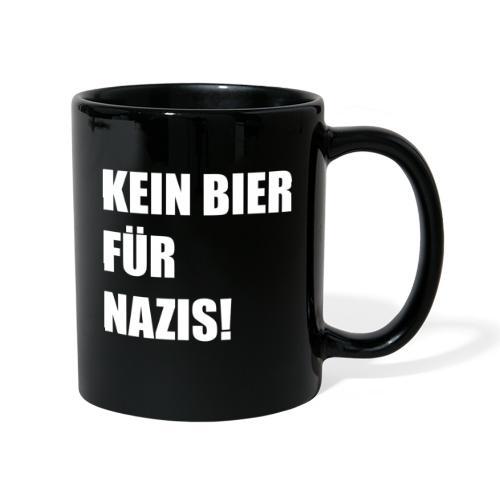 KEIN BIER FÜR NAZIS - Tasse einfarbig