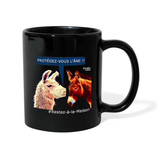 PROTEGEZ-VOUS L'ÂNE !! - Coronavirus - Full Colour Mug