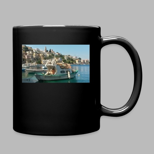 fischer griechenland - Tasse einfarbig