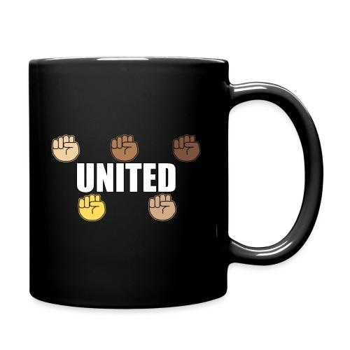 Gemeinsam gegen Rassismus - Tasse einfarbig