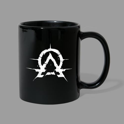 OA emblem white - Ensfarget kopp