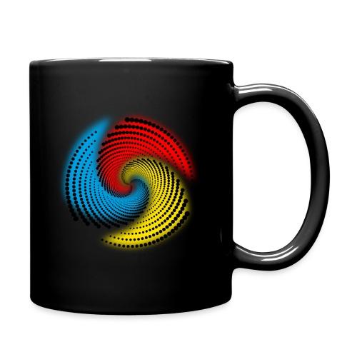 Farbspirale - Tasse einfarbig