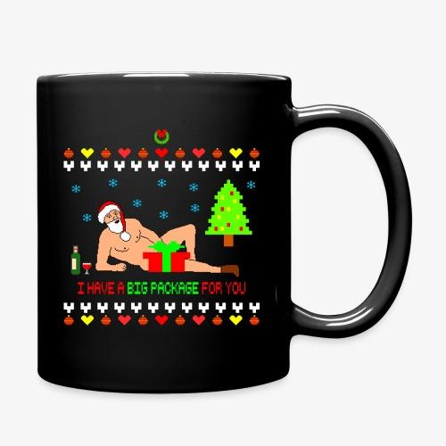 Sexy Romantic Santa Ugly Xmas - Tasse einfarbig