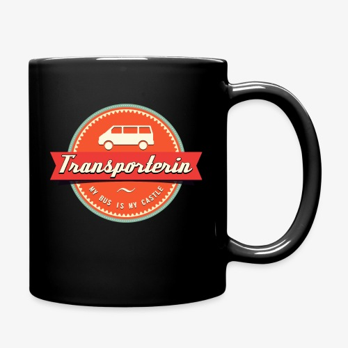 Transporterin Retro - Tasse einfarbig