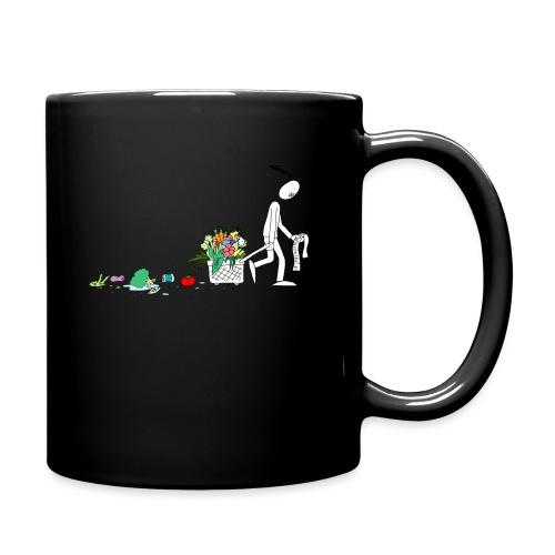 frukt og grønt handleveske - Ensfarget kopp