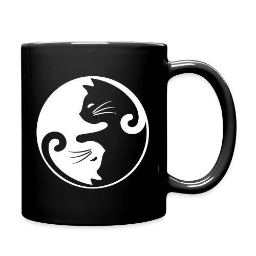 Vorschau: yin yang cat - Tasse einfarbig