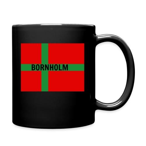 BORNHOLM - Ensfarvet krus