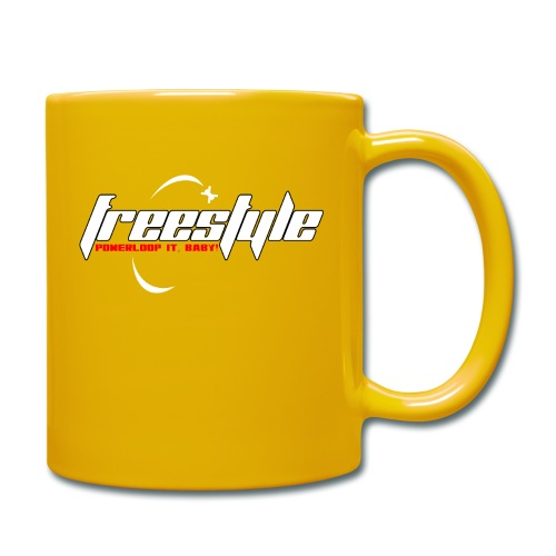 Freestyle - Powerlooping, baby! - Full Colour Mug