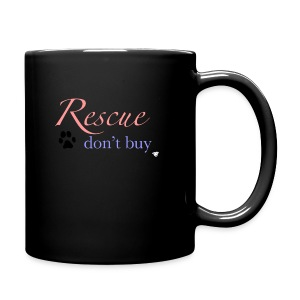 Rescue don't buy - Full Colour Mug
