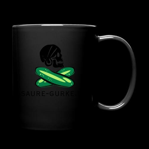 saure-gurke-pirat 01 - Tasse einfarbig