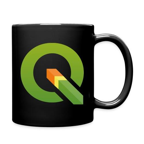 QGIS Q logo - Full Colour Mug