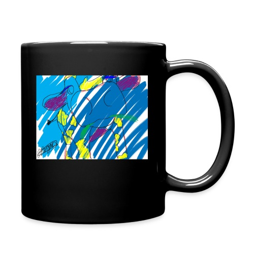 Signed Rainbow Cow - Full Colour Mug