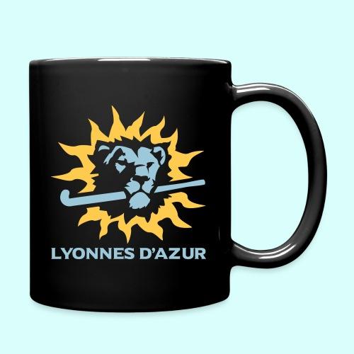 Lyonnes d azur 2 couleurs - Mug uni