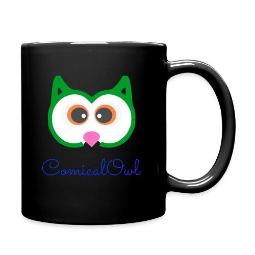 Cartoon Owl - Full Colour Mug