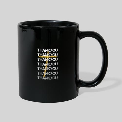 DANKE Jesus, das Geschenk für Christen THANKYOU - Tasse einfarbig