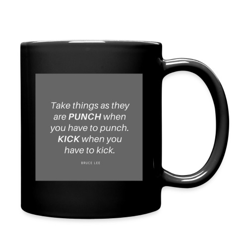 Punch and Kick - Tasse einfarbig
