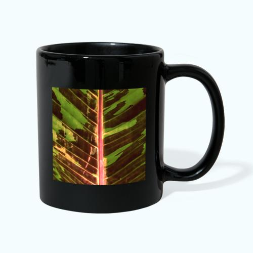 Bananas leaf watercolor - Full Colour Mug