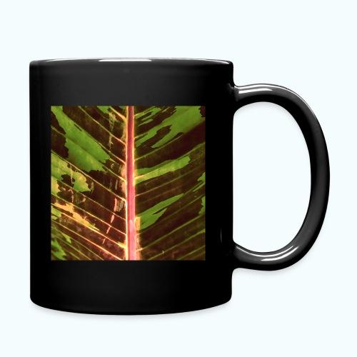 Bananas leaf watercolor - Full Colour Mug