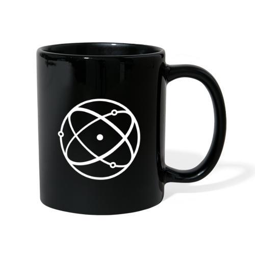Atom, weiß - Tasse einfarbig