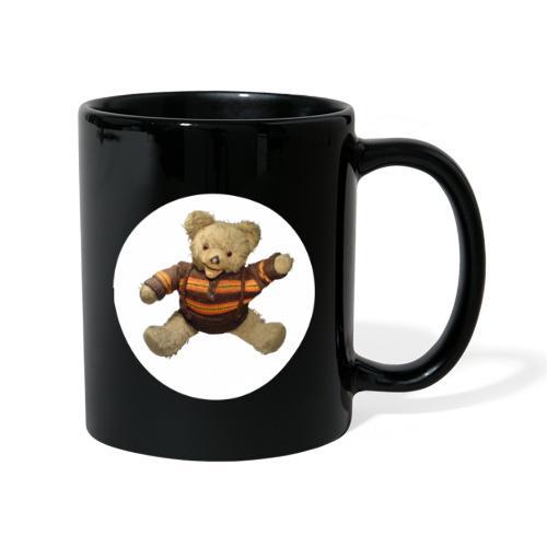Teddybär - orange braun - Retro Vintage - Bär - Tasse einfarbig