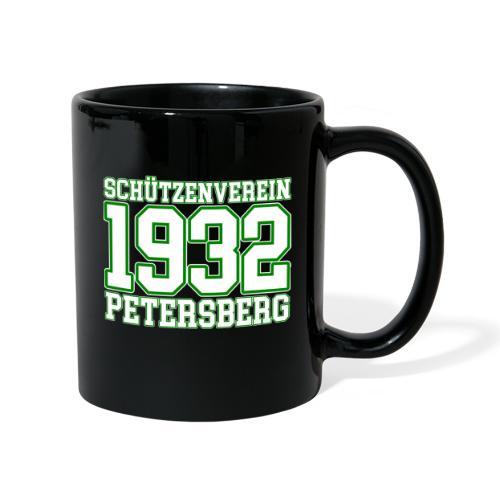 Logo Schützenverein 1932 e.V. Petersberg - Tasse einfarbig