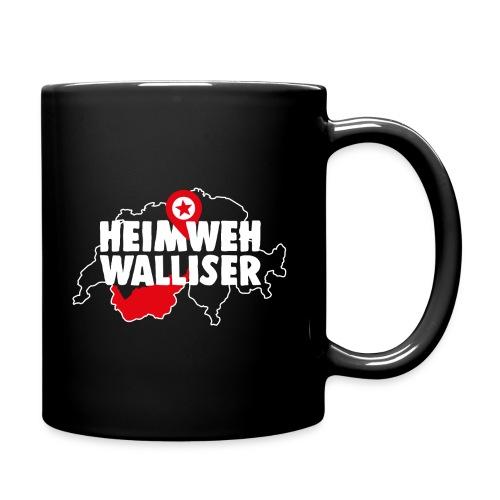 HEIMWEH WALLISER - Tasse einfarbig