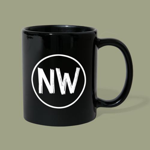 nico w. Logo Design - Tasse einfarbig
