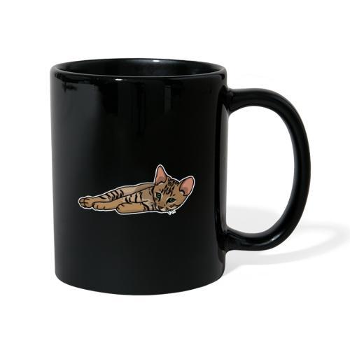 Bengalkatze, Bengal, Katze, Leopardkatze, Comic - Tasse einfarbig