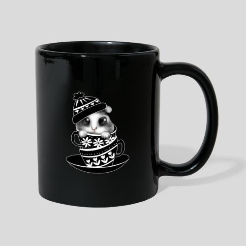 Schwarze Tiere - Tasse einfarbig