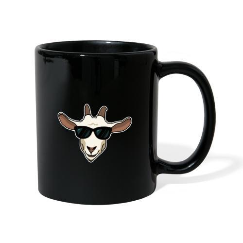 Ziege, Sonnenbrille, Tier, lustig, Geschenkidee - Tasse einfarbig