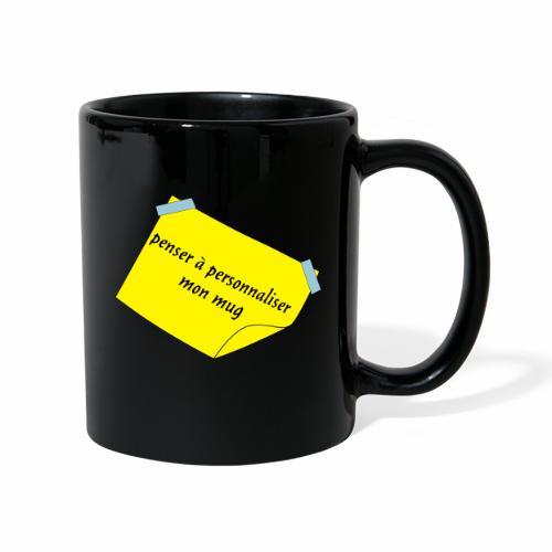 post it - Mug uni