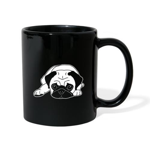 Mops, Hund, Hunderasse, Geschenkidee, süß, Comic - Tasse einfarbig