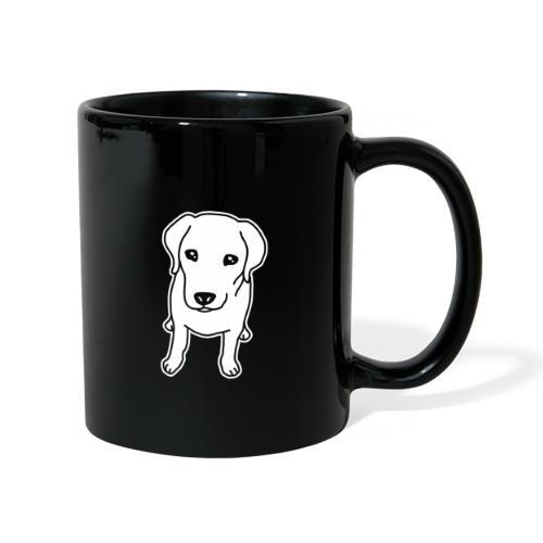 Labrador Retriever, Hund, Comic - Tasse einfarbig