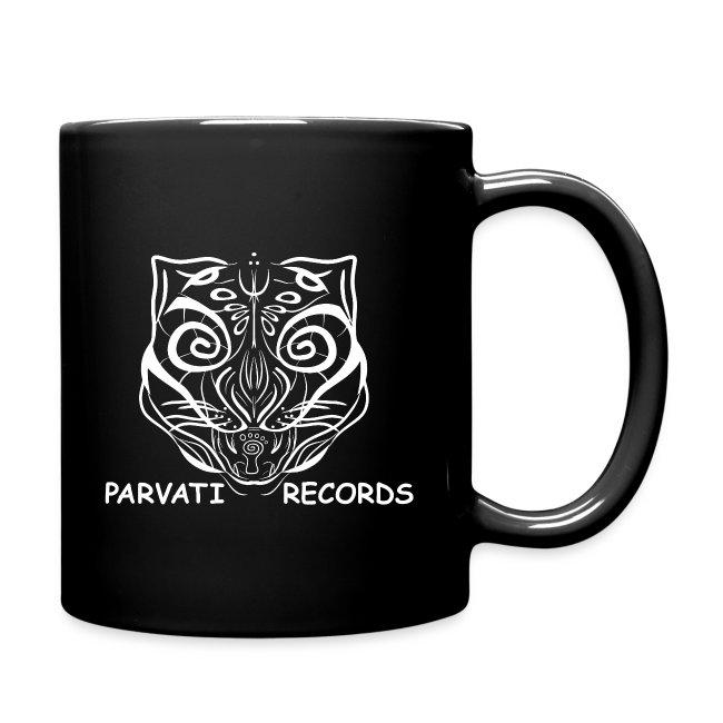 Parvati Cat logo, white