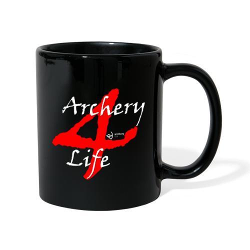 Archery4Life white - Tasse einfarbig