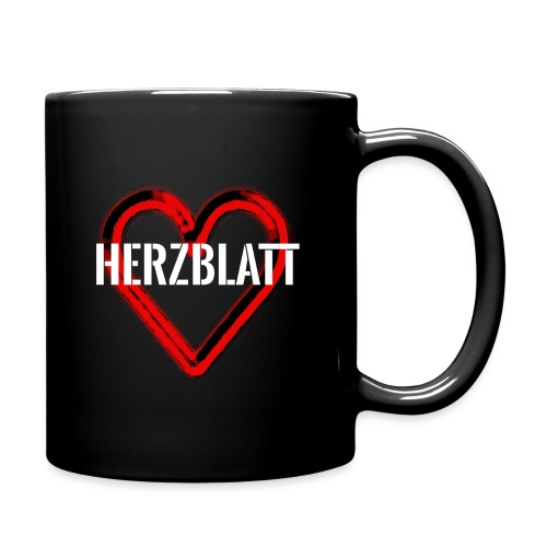 Herzblatt Logo - Tasse einfarbig