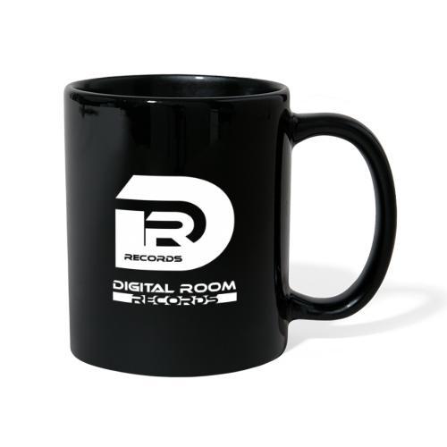 Digital Room Records Official Logo white - Full Colour Mug
