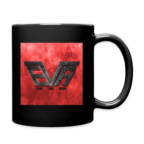EVA Logo farbig - Tasse einfarbig