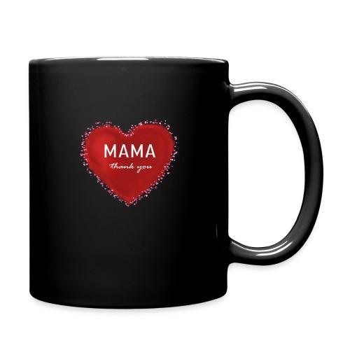 MAMA thank you - Tasse einfarbig