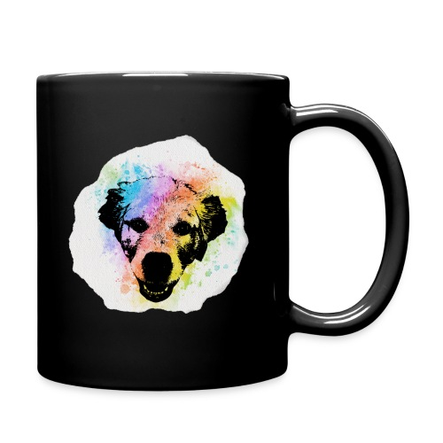 Golden Retriever Aquarell - Tasse einfarbig