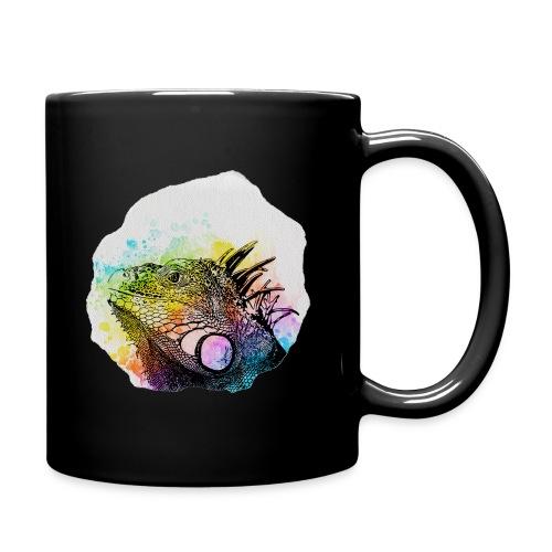Leguan Aquarell - Tasse einfarbig