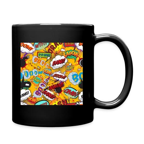Comic Book Pop Art Cool Fun Shout Outs Graphic - Full Colour Mug