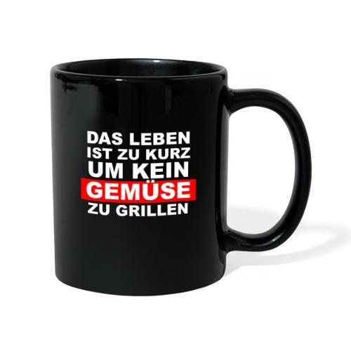 Gemüse grillen - Tasse einfarbig