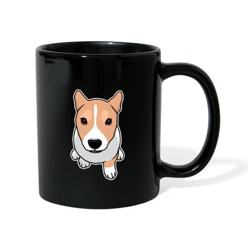 Corgi, Hund, Welsh Corgi Pembroke, Comic, süß - Tasse einfarbig