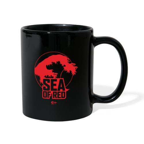 Sea of red logo - red - Full Colour Mug