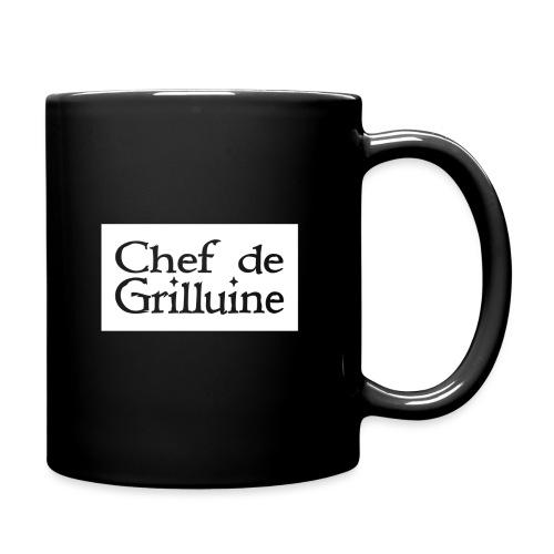 Chef de Grilluine - der Chef am Grill - Tasse einfarbig