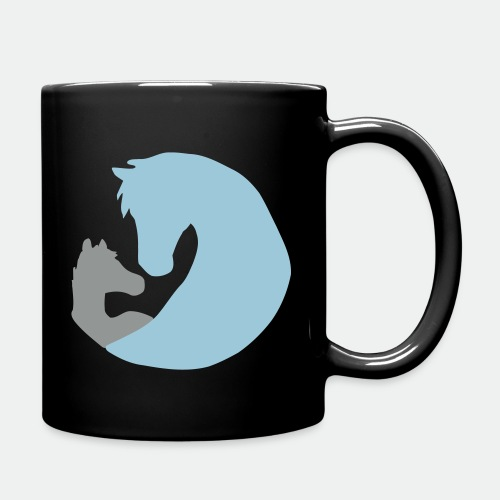 Mare and Foal - color - Full Colour Mug