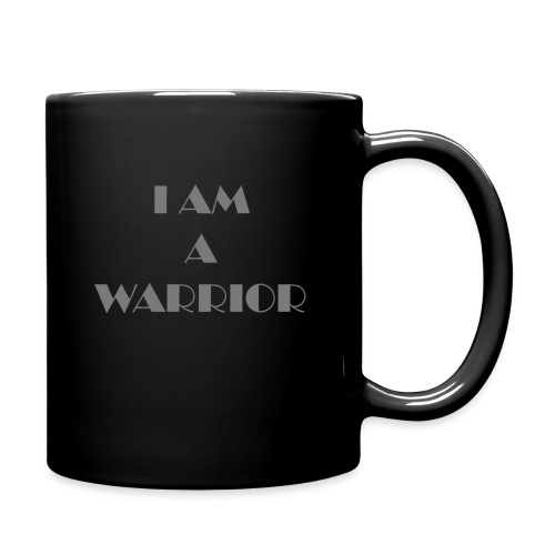 I am a warrior - Full Colour Mug