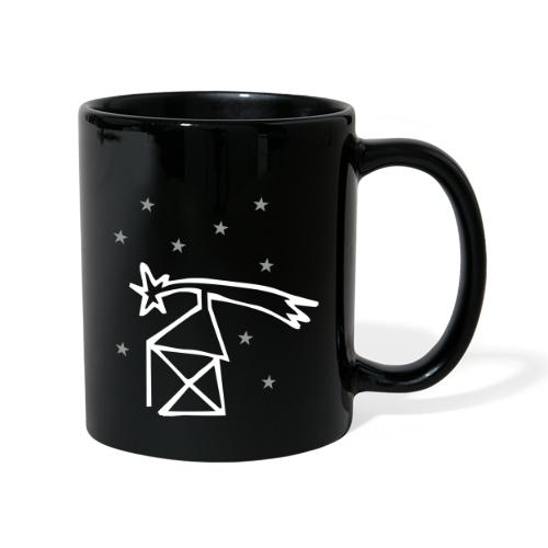 nikolaushaus mit komet - Tasse einfarbig